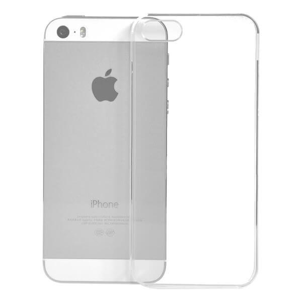 Hard Clear Case for Apple iPhone 5/5S